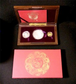 1991 10th Anniversary Panda Proof Set