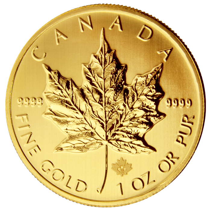 Gold Canada Maple Leaf 1 Oz Rare Panda Coins Inc